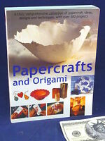 Papercrafts Origami Book Lucy Painter Designs Techniques Projects