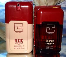 *TED LAPIDUS POUR HOMME by TED LAPIDUS* *3.25 OZ AFTER SHAVE & 4.2 OZ DEODORANT*