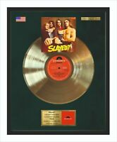 Slade Slayed Gold Vinyl Record In Frame Perfect Gift Idea