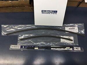2015-2017 Subaru Outback Legacy Front & Rear Windshield Wiper Blade Refill Set