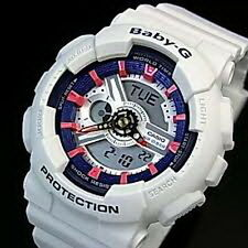 Casio Baby-G 3-Dimensional Face Sporty Sneaker Colours Men's Watch BA-110SN-7A