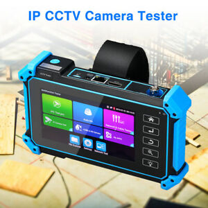 "5"" IP CCTV Camera Tester AHD TVI CVI Analog Security Test HDMI VGA Input LCD Kit"