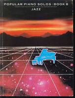 JAZZ ~ Popular Piano Solos ~ Book 8