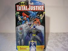 1996 TOTAL JUSTICE BATMAN with FLIGHT ARMOR AND GLIDER CAPE ACTION FIGURE