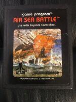 Vintage 1981 Atari 2600 Game Cartridge Tested & Working Air Sea Battle