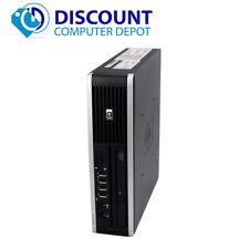 HP 8000 Elite Windows 10 Small Thin Desktop PC Intel C2D 3.0GHz 4GB 160GB Window