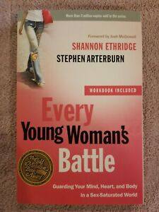 NEW Every Young Woman's Battle by Shannon Ethridge paperback FREE SHIPPING