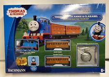 Bachmann HO Scale Thomas & Friends Thomas With Annie & Clarabel Train Set , NEW