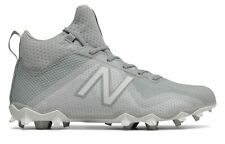 huge discount 77c63 2c133 New Balance Male Men s Freezelx Lacrosse Cleat Adult Shoes Grey With White
