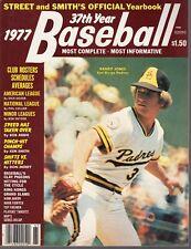 1977 Street & Smith's Baseball Yearbook magazine,Randy Jones,San Diego Padres~VG