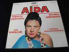 VERDI°AIDA<>VON KARAJAN<>3-LP Vinyl~UK Pressing<>LONDON OSA 1313