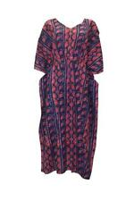 BLUEPORT LONDON PLUS SIZE BOHO FLORAL COTTON TRIBAL ABSTRACT KIMONO KAFTAN p24