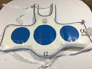 ProForce Size 2 Youth Hogu Taekwondo Chest Guard Body Protector