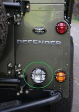 LAND ROVER DEFENDER ALL MODELS LAMP GUARD TO SUIT NAS LAMP 95MM PART BA 012E