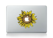 "PRETTY SUNFLOWER Macbook Viny Sticker Decal Macbook Air/Pro/Retina 12""13""15""17"""