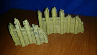 HeroScape Replacement RISE OF VALKYRIE MASTER SET TWO Raised Wall Sections Only
