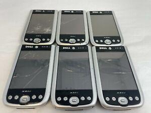 Mixed Lot 6 Dell Axim X Pocket PC Mini Handheld PDA Windows Mobile X50V,X51V,X51