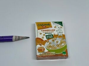 G022 Dollhouse Miniature Coop Kids Organic honey cereal donuts migros market