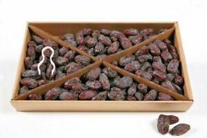 Palestinian Medjoul Dates 5kg Class 1 Fresh 100% Natural Juicy Large Free P&P