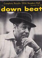 Down Beat Mag Duke Ellington 1956 Readers Poll December 26 1956 101219nonr