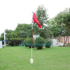 One Set Backyard Practice Golf Hole Pole Cup Flag Stick Putting Green Flagstick