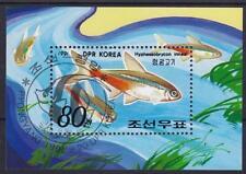 Corea PESCI BLOCCO 1991, gest., Fish, used