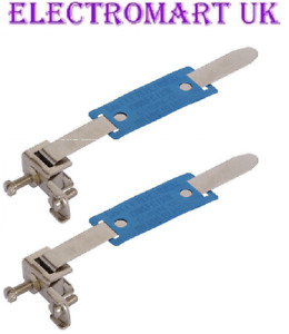 2 X ALTO EC15 AL0049 EARTH BONDING CABLE CLAMP STRAP FITS 12 - 32MM PIPE WET DRY