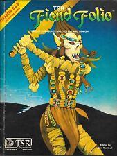 Advanced Dungeons & Dragons  : Fiend Folio : 1981 : ref 2012