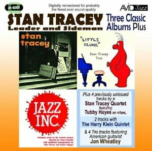 Stan Tracey - Three Classic Albums Plus (Stan Tracey Sh... - Stan Tracey CD 2SVG