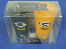 NFL Green Bay Packers 20 oz Beer Drink Cups, Insulated Acrylic Tumble Set, NEW