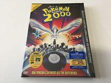 Pokémon the Movie - 2000 DVD (Original Release SNAPCASE Brand NEW) FREE US SHIP2