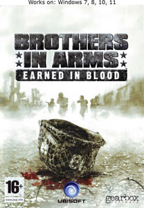 Brothers in Arms: Earned in Blood PC Game Windows 7 8 10 11