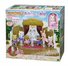 Forest Ballet Theatre Sylvanian Families with Hopscotch Rabbit Calico Critters