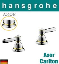 Hansgrohe Axor Carlton Pairs of Lever Handle(Hot+Cold) w/Shut-off Valve Chr/Gold