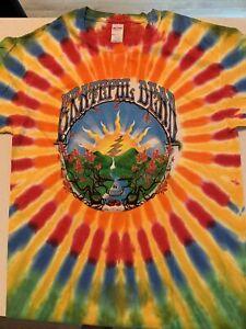 Grateful Dead Sunrise Gildan Tie Dye Shirt NWOT L Large