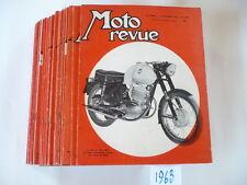 LOT MOTO-REVUE ANNEE 1963    27 numeros