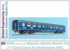 EE 4049 LN Maerklin Märklin Marklin HO 2nd Class Coach for Netherlands (NS) OBX