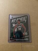 2019-20 Donruss Optic Holo Prizm My House! Giannis Antetokounmpo Bucks