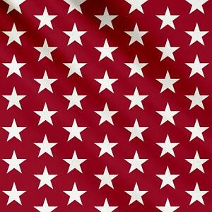 Stars Printed PVC Table Cover Tablecloth Oilcloth Fabric - Sold by the Metre