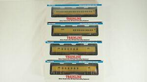 Walthers HO Union Pacific 60' Heavyweight RPO 931-790 Combine 931-780 Coach 775