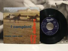 "TONY DALLARA CON I CAMPIONI - MY TENNESSEE EP 45 GIRI 7"" EX-/EX ITALY EPM 10105"