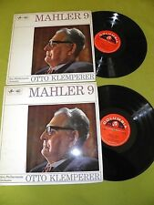 Mahler - Symphony No. 9 - Otto Klemperer - ED1 Columbia SAX 5281 / 5282 2xLP NM