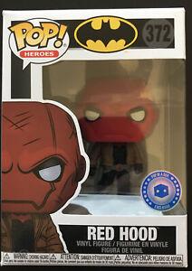 Funko Pop, Pop In A Box Edition Batman Exclusive: RED HOOD #372 + Protector