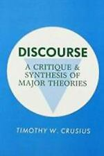 Discourse: A Critique and Synthesis of Major Theories-ExLibrary