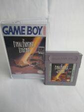Original Authentic The Final Fantasy Legend Nintendo Gameboy Cartridge Tested