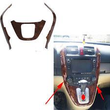 Fit For Honda CRV CR-V  2007-2011 Shift Gear Panel Trim Frame Garnish Cover 3PCS