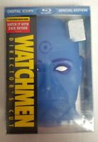 Watchmen Director's Cut Special Edition Blu-Ray (Dr. Manhattan Case) NEW