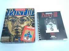 Commodre Amiga Deluxe Paint III by Daniel Silva Manual