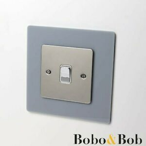 Light Switch or Plug Socket Surround - Single or Double - Acrylic - Finger Plate