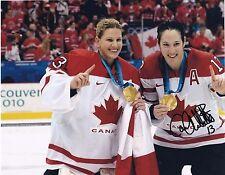 Caroline Ouellette Team Canada Women's Hockey Autographed Photo W/Our COA